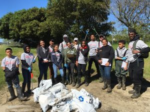 healthy watersheds trash assessment volunteers