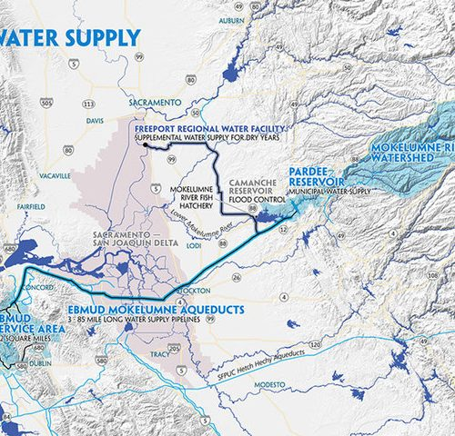 East Bay Water Supply: The Journey from the Mokelumne River to our Sinks